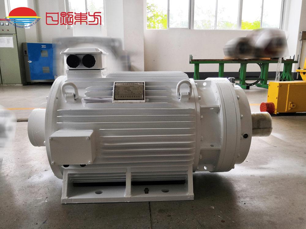 380V,45kW,46rpm皮带机永磁电机