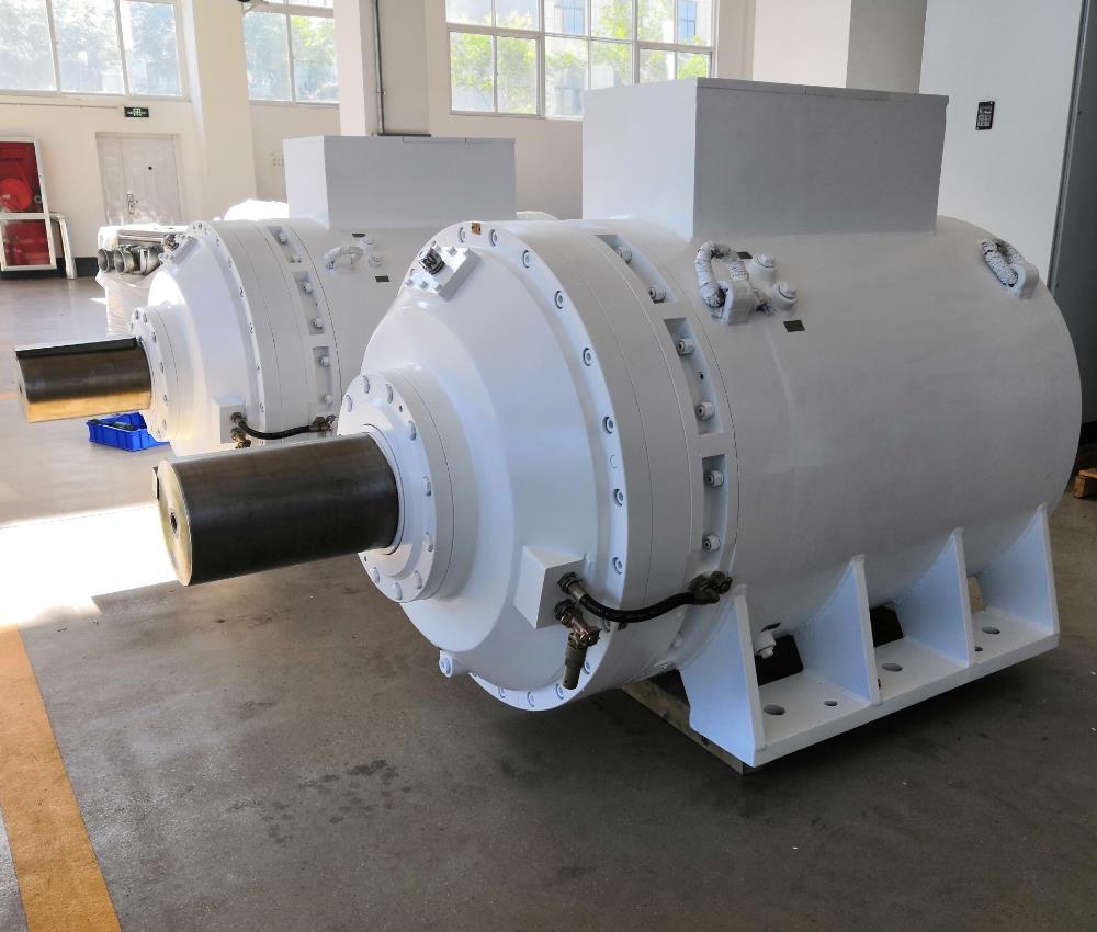 矿用皮带机隔爆型系列低速大扭矩永磁电机