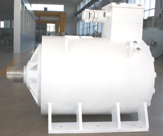 水利工程福彩3D论坛卧式低压低速永磁同步电机
