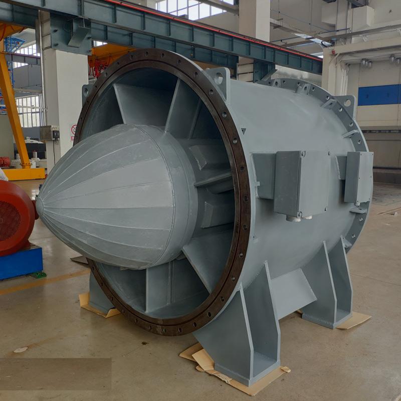 潜水贯流泵用低压低速永磁同步电机
